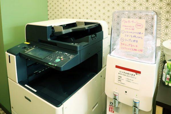 コピー機とウォーターサーバー